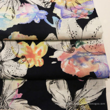 Multi-Color Printing Summer Textile Linen Fabrics