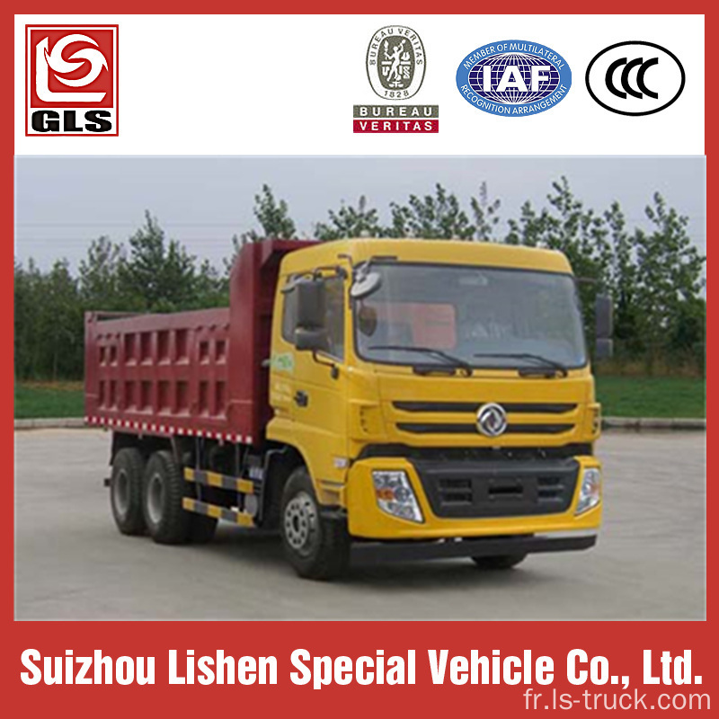 Camion-benne 6 x 4 Dongfeng