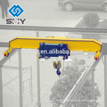 Low & High Level Slewing Telescopic Electromagnetic Overhead Crane With Carrier-beam