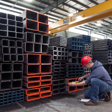 Welded Carbon Erw Black Square Rectangular Steel Tube