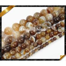La piedra semipreciosa rebordea el grano al por mayor de la joyería de la manera (AG023)