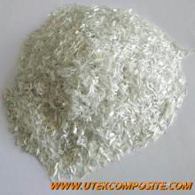 4,5 mm de longitud de fibra de vidrio cortado fibra de fibra de vidrio para PP