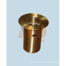 Piezas de proceso del torno del CNC del latón de la precisión y piezas de torneado del CNC de la precisión (MQ2054)
