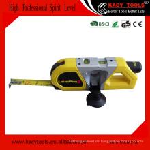 Multifunktionales 3m Maßband und Laser-Wasserwaage Messgerät