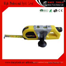 Multifunctional 3m tape measure and laser spirit level measuring tool