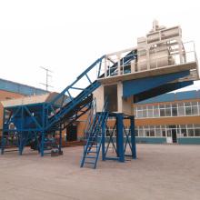 yhzs concrete cement mixer batching plant mobile