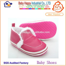 china manufacturer household soft sole leather baby shoes