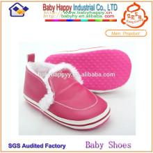 Китай производитель бытовая мягкая подошва кожа детская обувь