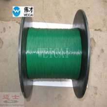 Green florist wire for gift bundling