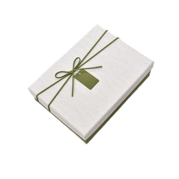 Fancy Paper Top and Bottom Rigid Gift Box
