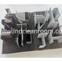 High-quality aluminum profiles for clean rooms