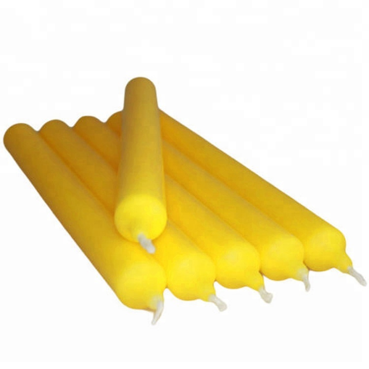 Yellow Color Citronella 6 Candlestick Taper Mosquito 2