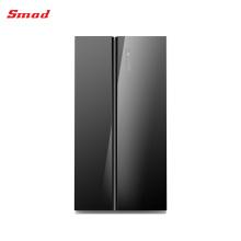 Высокого Класса Мульти Стеклянной Дверью Закончили Бок О Бок Холодильник