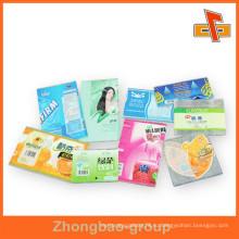 ПВХ / ПЭТ термоусадочной этикетки этикеток пластиковых стикеров, сделанных в Китае