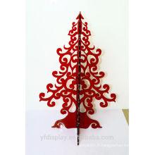 Arbre de Noël acrylique artificiel Mini moderne