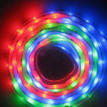 3528 Non-waterproof LED chasing light (with IC) (FLT01-3528RGB48D-12MM-IC5V)