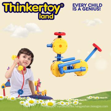 Inteligente y educativo bloques de construcción de plástico de juguete
