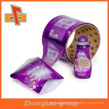 Custom printed shrink sleeve label pvc shrink sleeve for bottle cap pakage