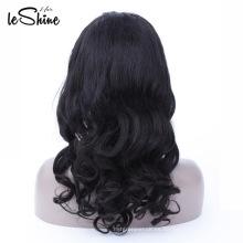 Envío rápido pelucas llenas del cordón del cabello humano de la Virgen 100% brasileña