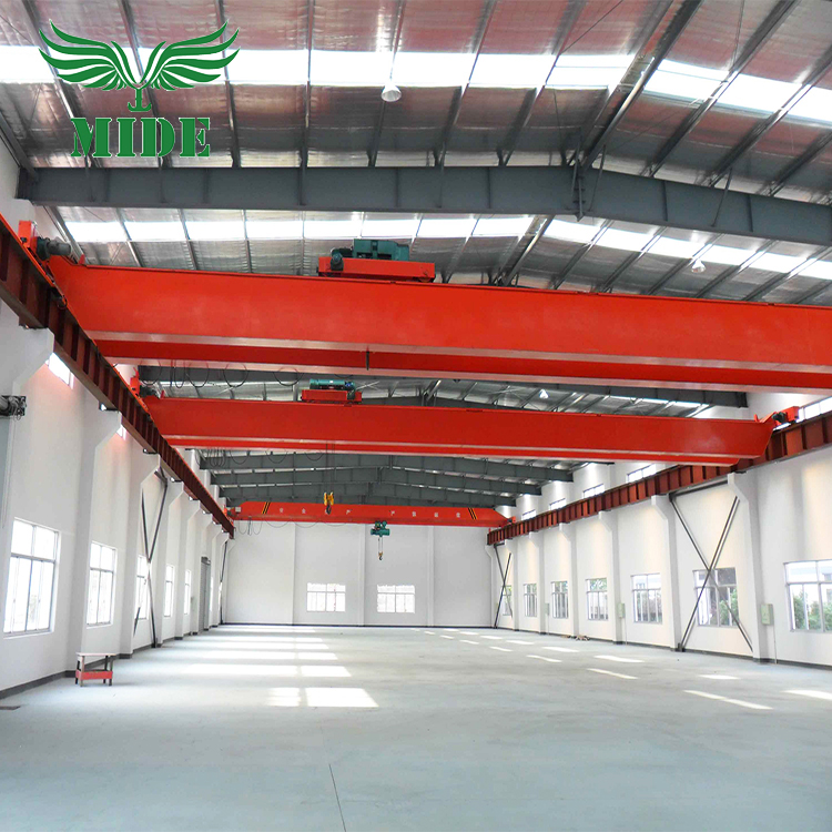 QD 5 ton double beam bridge crane