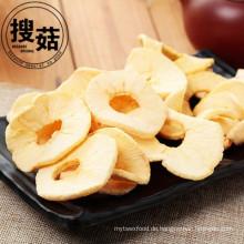 Vakuum gebratener getrockneter Apfel bricht gesunde Snackfruchtchips ab