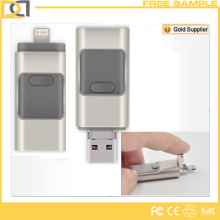 Promotional Custom Metal OTG USB Flash Drive for iPhone