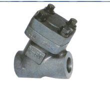 Válvula de retención de pistón de acero forjado