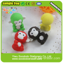 SOODODO 3D Fancy Yellow Ali Shaped Eraser Vendeur