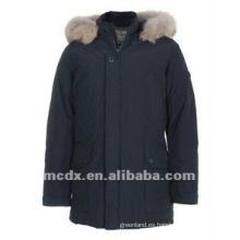 oficial de estilo acolchado acolchado y chaquetas para hombre