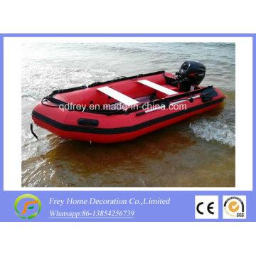 Ce bateau de pêche en PVC / Hypalon, bateau à rames