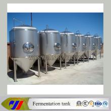 Fermentador cônico inferior da fabricação de cerveja de aço inoxidável