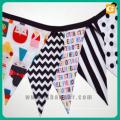 Fabric bunting flag