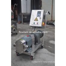 Pompe à sucre liquide en acier inoxydable avec régulateur de vitesse