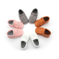 Calidad Unisex Mix Colors Double Layers Baby Moccasins