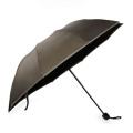 Unique Cheap Custom Made Sun Rain Windproof 3 Folding Small Promotional Reflective Glow Umbrella