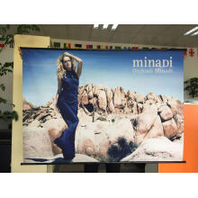 Wall Scroll Hanging Banner For Products Promotion
