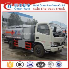 DFAC 5500 Litro camión de tanque de combustible de aceite en camión pequeño tanque de petróleo