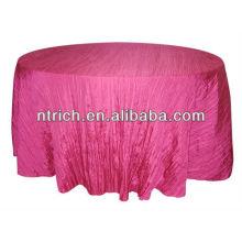 Tissu de table magnifique frisolée taffetas écrasée