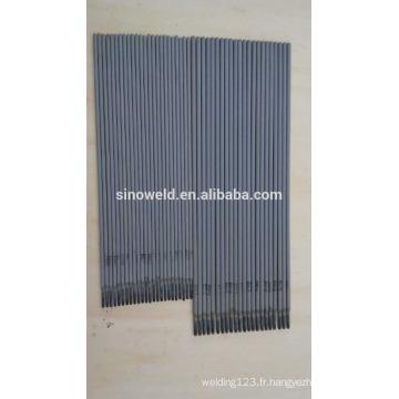 Tige de soudure en acier doux à faible teneur en acier à faible teneur en acier à base de soudure en acier AWS E6013 électrode revêtue de sable rutile