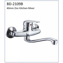 Bd2109b 40mm Single Lever Zinc Kitchen Faucet