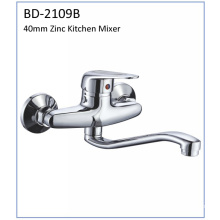 Bd2109b Faucet de cozinha de zinco de alavanca de 40mm