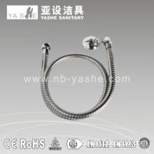 YS613 Stainless Steel Single Lock Toilet Spray Shower Hose