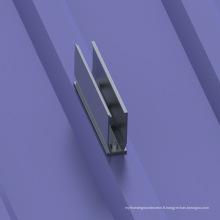 Système de support de toit de feuille de métal trapézoïdale solaire du système 1000KW