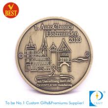 Fashion Design Cheap Customized Pressure Stamping 2D Souvenir Medal in Copper