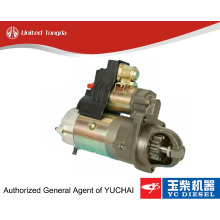 Original Yuchai starter motor BJ100-3708100 for YC6108