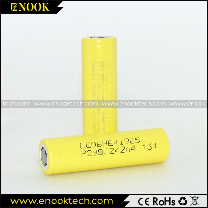 Whosales LG HE4 18650 3.7V 2500mah 35A Battery