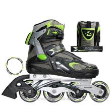2017 novo design profissional patins de rolo em linha de skateshoes