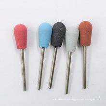Factory Directly Supply Thinlan Round Head Rubber Ceramic Art Bit Equipment Cap For Nail Sanding Drill Bits