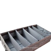 Grey Under Bed Shoe Organizer