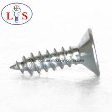 Vis à tête cylindrique en acier au carbone avec plaqué zinc